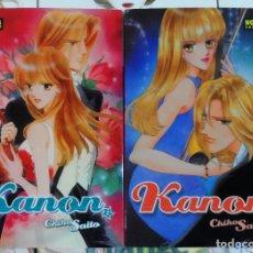 Cómics: CHIHO SAITO. KANON. NÚMERO 02 Y 03. NORMA EDITORIAL.. Lote 181921460