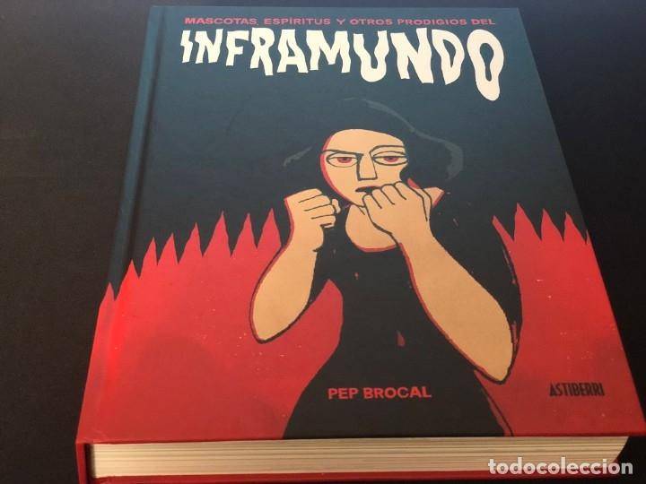 MASCOTAS, ESPÍRITUS Y OTROS PRODIGIOS DEL INFRAMUNDO. PEP BROCAL (Tebeos y Comics - Manga)