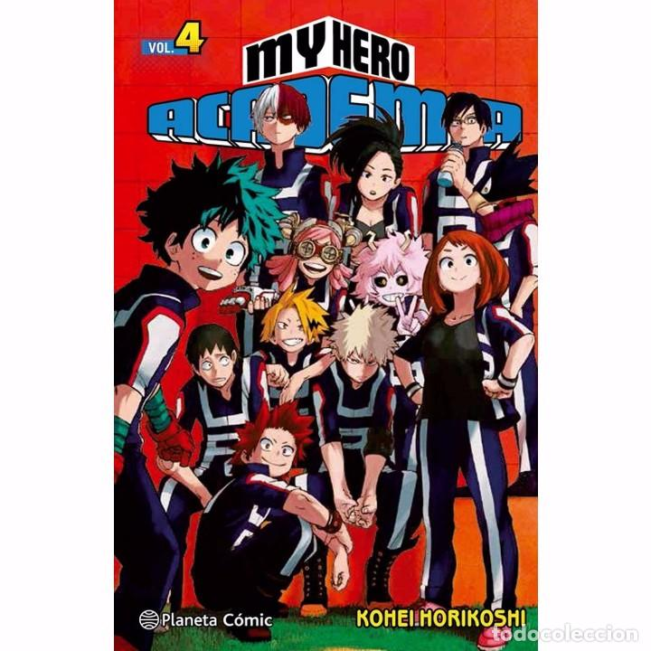 MY HERO ACADEMIA Nº 04 (Tebeos y Comics - Manga)