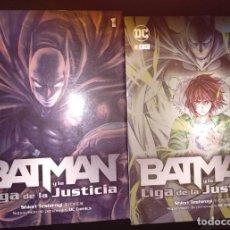Cómics: BATMAN Y LA LIGA DE LA JUSTICIA. 2 TOMOS. Lote 183859015
