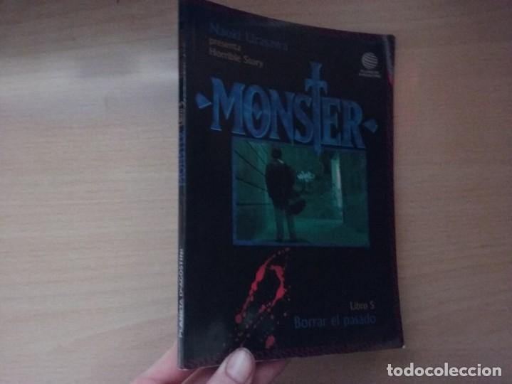 MONSTER - BORRAR EL PASADO (LIBRO 5) - NAOKI URASAWA - PRESENTA HORRIBLE STORY (EDITORIAL PLANETA) (Tebeos y Comics - Manga)