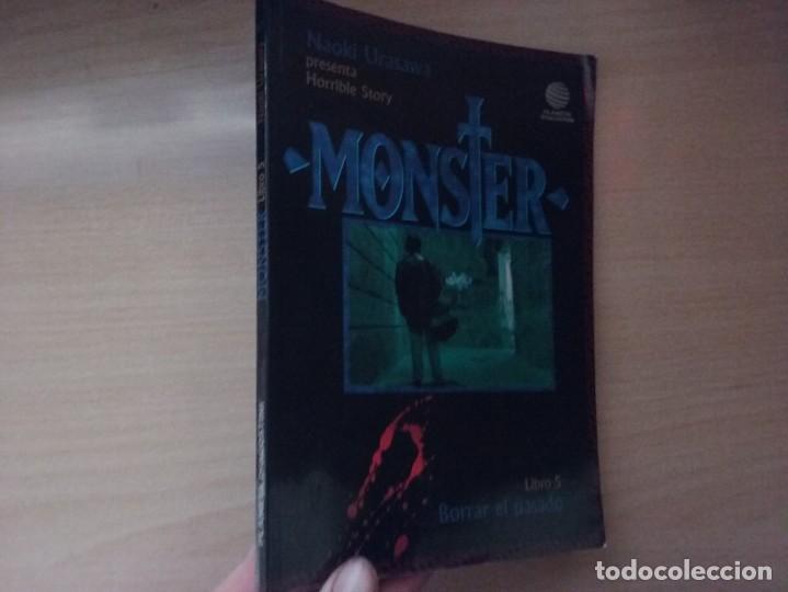 Cómics: MONSTER - BORRAR EL PASADO (LIBRO 5) - NAOKI URASAWA - presenta Horrible Story (EDITORIAL PLANETA) - Foto 2 - 184794885