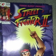 Cómics: STREET FIGHTER II (8 NÚMEROS COMPLETA). Lote 186008385