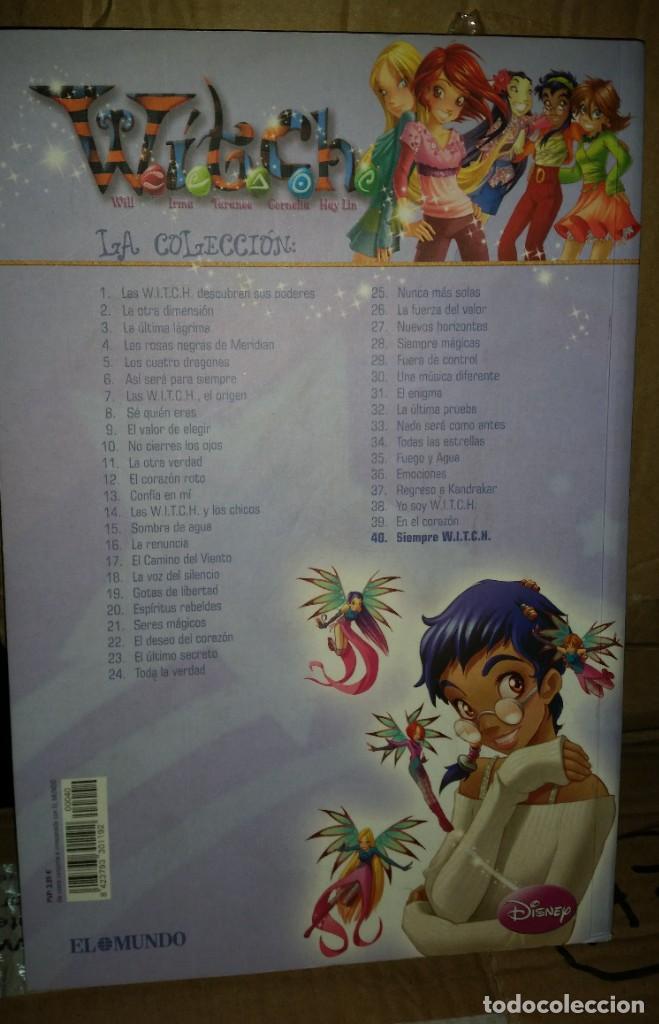 Cómics: COLECCION WITCH COMPLETA - 40 NUMEROS - DIARIO EL MUNDO 2009 - Foto 18 - 169739196
