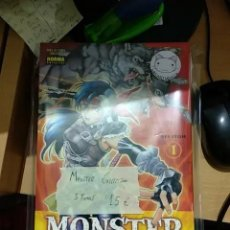 Cómics: MONSTER COLLECTION, 5 PRIMEROS TOMOS - NORMA - SEMINUEVO. Lote 188865672