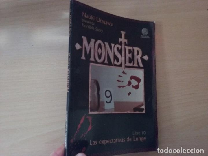 MONSTER (LIBRO 10): LAS EXPECTATIVAS DE LUNGE - NAOKI URASAWA PRESENTA HORRIBLE STORY (Tebeos y Comics - Manga)