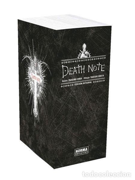 CÓMICS. MANGA. DEATH NOTE. EDICIÓN INTEGRAL + COFRE - TSUGUMI OHBA/TAKESHI OBATA (Tebeos y Comics - Manga)