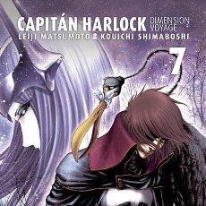 Cómics: CÓMICS. MANGA. CAPITÁN HARLOCK DIMENSION VOYAGE 7 - LEIJI MATSUMOTO/KOUICHI SHIMABOSHI. Lote 189484695