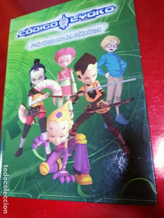 Cómics: libro-código lyoko-PÁNICO EN LA FÁBRICA-MEDIA LIVE-2007-ver fotos - Foto 2 - 190562100