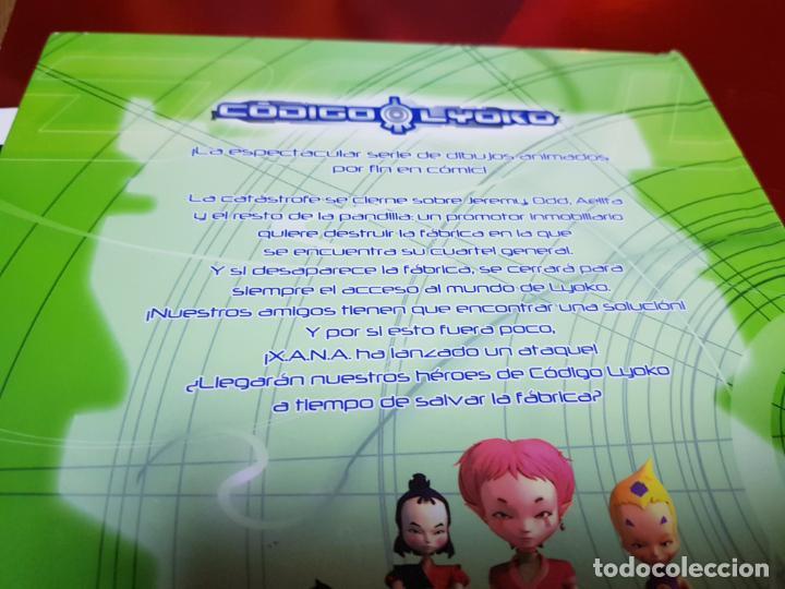 Cómics: libro-código lyoko-PÁNICO EN LA FÁBRICA-MEDIA LIVE-2007-ver fotos - Foto 4 - 190562100
