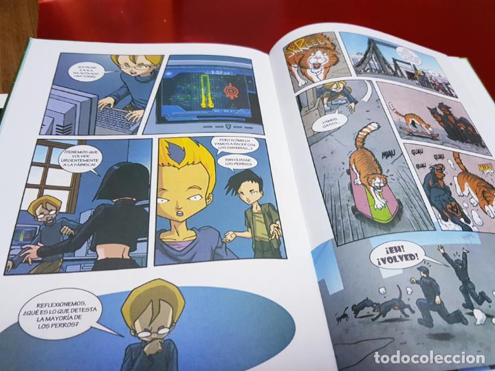 Cómics: libro-código lyoko-PÁNICO EN LA FÁBRICA-MEDIA LIVE-2007-ver fotos - Foto 8 - 190562100