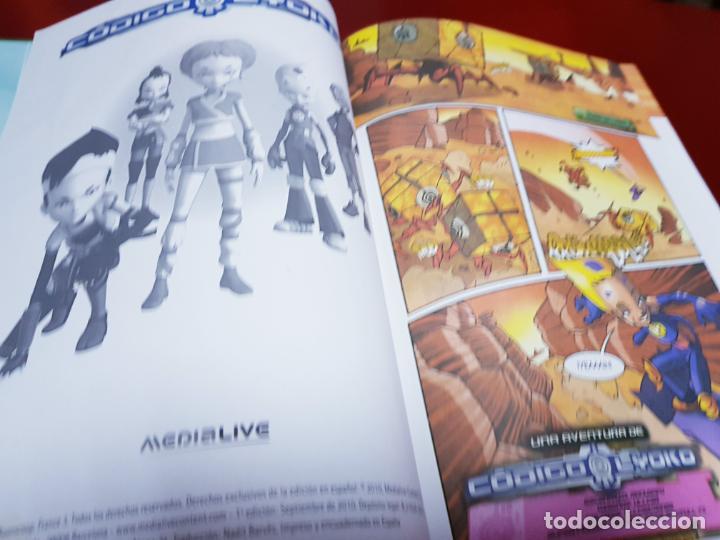 Cómics: libro-código lyoko-PÁNICO EN LA FÁBRICA-MEDIA LIVE-2007-ver fotos - Foto 9 - 190562100