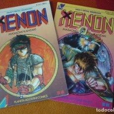 Cómics: XENON HEAVY METAL WARRIORS NºS 1 Y 5 ( MASAOMI KANZAKI ) ¡BUEN ESTADO! MANGA PLANETA. Lote 191038355