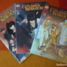 Cómics: EXPLORER WOMAN RAY NºS 1, 2 Y 7 ( OKAZAKI ) ¡BUEN ESTADO! MANGA PLANETA . Lote 191043736