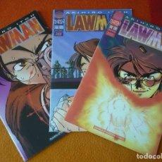 Cómics: LAWMAN NºS 1, 2 Y 3 ( AKIHIRO ITOH ) ¡BUEN ESTADO! MANGA PLANETA . Lote 191137648