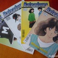 Cómics: BATEADORES NºS 3, 6, 7 Y 8 PRIMERA PARTE ( MITSURI ADACHI ) ¡BUEN ESTADO! MANGA NORMA. Lote 191238488