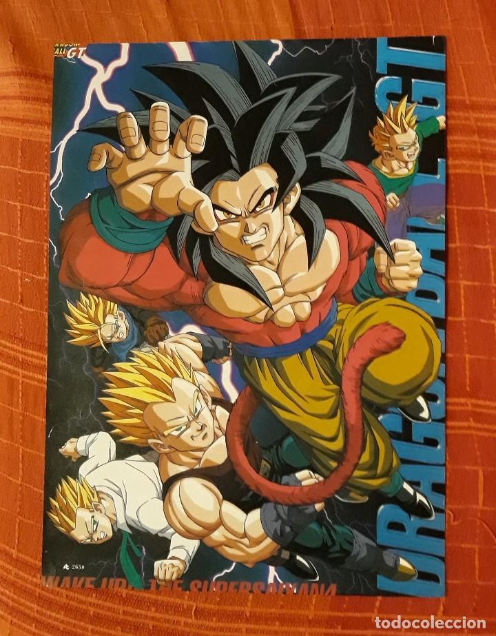 PÓSTER DRAGON BALL GT (Tebeos y Comics - Manga)