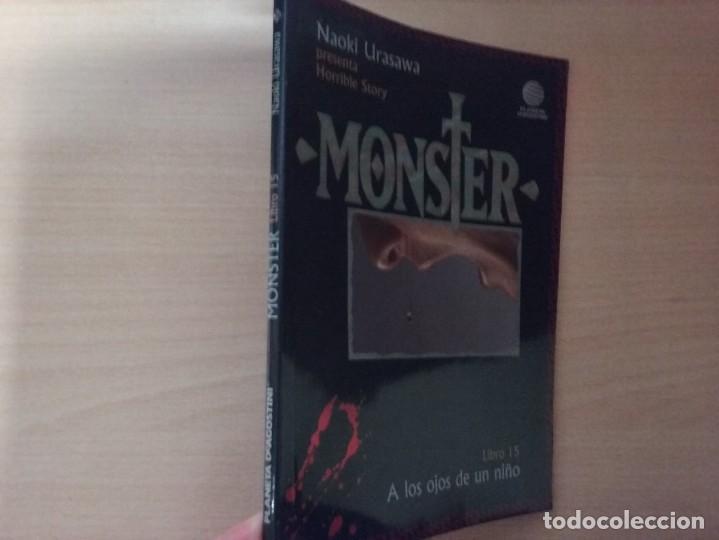 MONSTER - A LOS OJOS DE UN NIÑO (LIBRO 15) - NAOKI URASAWA (PLANETA AGOSTINI) (Tebeos y Comics - Manga)