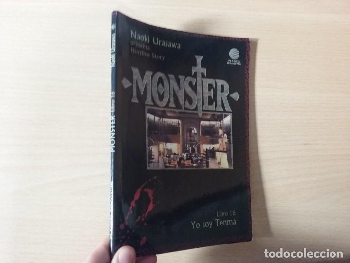 MONSTER -YO SOY TENMA (LIBRO 16) - NAOKI URASAWA (PLANETA AGOSTINI) (Tebeos y Comics - Manga)
