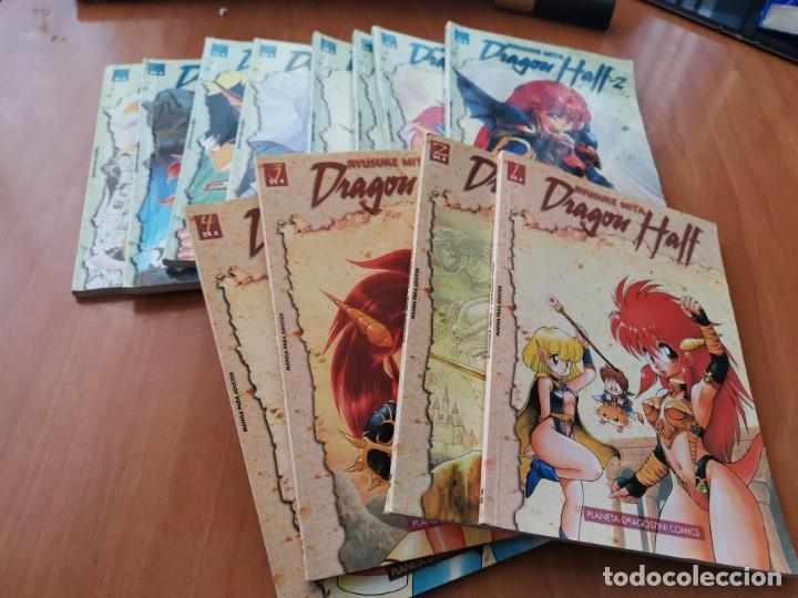 Cómics: DRAGON HALF I Y II COLECCION COMPLETA RYUSUKE MITA 4 + 8 TOMOS PLANETA DE AGOSTINI - Foto 4 - 194306687