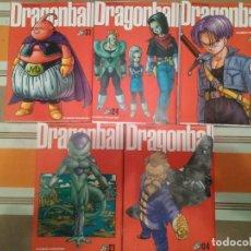 Cómics: DRAGON BALL ULTIMATE NUMEROS 4, 21, 23, 24, 31 - MANGA - COMIC. Lote 194339788