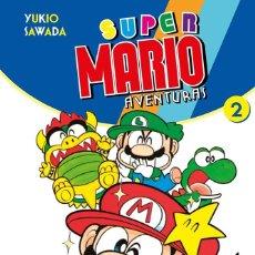 Cómics: SUPER MARIO AVENTURAS 02 - PLANETA - SEMINUEVO. Lote 194388566