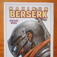 Cómics: MAXIMUM BERSERK Nº 3 - KENTARO MIURA - PANINI - NUEVO (6R). Lote 194578997