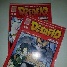 Cómics: DESAFIO COMPLETA 2 NUMEROS ESTADO MUY BUENO COMICS PLANETA MAS ARTICULOS. Lote 194636947