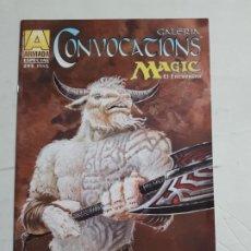 Cómics: GALERIA CONVOCACIONES MAGIC EL ENCUENTRO ESTADO EXCELENTE MAS ARTICULOS . Lote 194667832