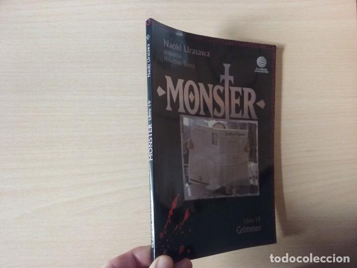 MONSTER - GRIMMER (LIBRO 19) - NAOKI URASAWA (PLANETA AGOSTINI) (Tebeos y Comics - Manga)