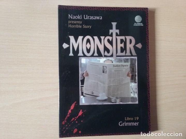Cómics: MONSTER - GRIMMER (LIBRO 19) - NAOKI URASAWA (PLANETA AGOSTINI) - Foto 2 - 195280930