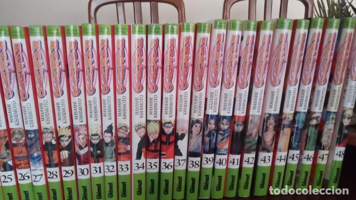 LOTE DE LIBROS DE NARUTO DEL Nº 19 AL 48 (Tebeos y Comics - Manga)