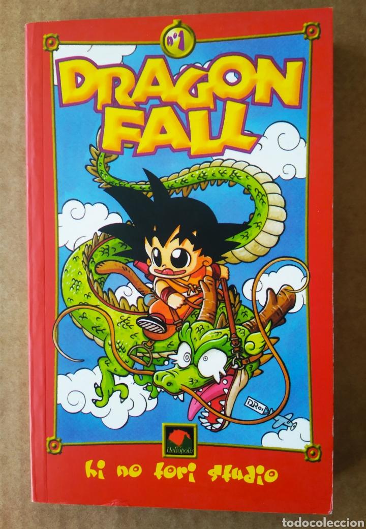 DRAGON FALL N°1: EL PRINCIPIO (HELIÓPOLIS, 2001). HI NO TORI STUDIO. CONTIENE LOS NÚMEROS 1-2-3-4-5. (Tebeos y Comics - Manga)