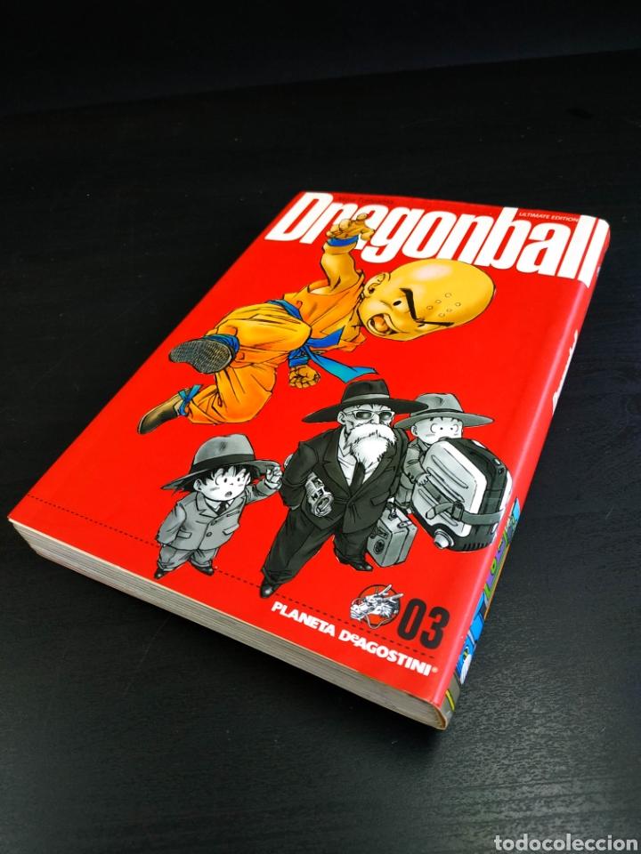 EXCELENTE DRAGON BALL 03 ULTIMATE EDICION 2006 ESTADO AKIRA TORIYAMA PLANETA DEAGOSTINI (Tebeos y Comics - Manga)