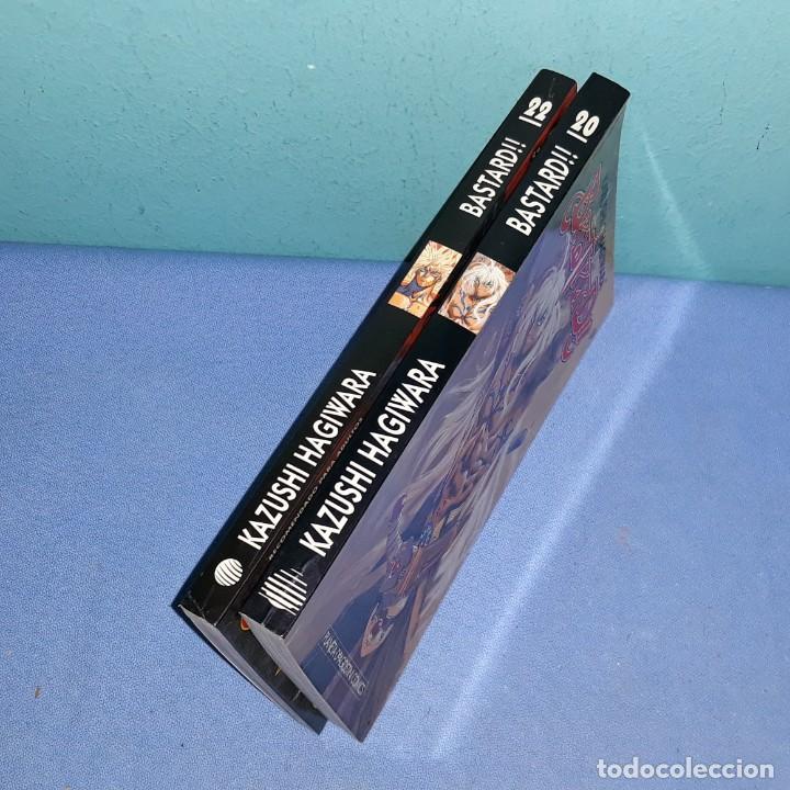 Cómics: 2 TOMOS MANGA DE LA COLECCION BASTARD DE PLANETA DE AGOSTINI AÑOS 90 EN MUY BUEN ESTADO - Foto 2 - 196085586