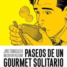 Comics: PASEOS DE UN GOURMET SOLITARIO - ASTIBERRI - NUEVO. Lote 197872200