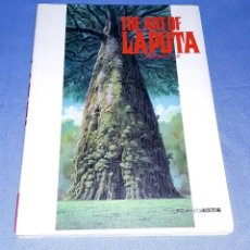 Cómics: LIBRO MANGA THE ART OF LAPUTA GHIBLI HAYAO MIYAZAKI EN PERFECTO ESTADO ORIGINAL. Lote 198642717