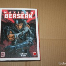 Cómics: MAXIMUM BERSERK Nº 14, KENTARO MIURA. Lote 199269837