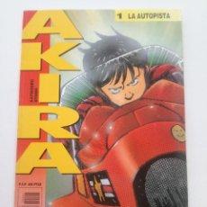 Cómics: AKIRA - Nº 1 - LA AUTOPISTA - DRAGON GLENAT 1990 // KATSUHIRO OTOMO MANGA COMIC JAPONES. Lote 202315111