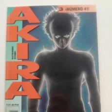 Cómics: AKIRA - Nº 3 - ¡NUMERO 41! - DRAGON GLENAT 1990 // KATSUHIRO OTOMO MANGA COMIC JAPONES. Lote 202315281