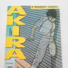 Cómics: AKIRA - Nº 6 -PRISIONEROS Y JUGADORES - DRAGON GLENAT 1990 // KATSUHIRO OTOMO MANGA COMIC JAPONES. Lote 202315505
