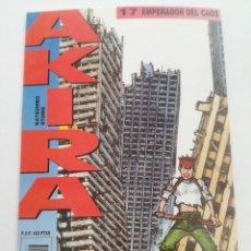 Cómics: AKIRA - Nº 17 - EMPERADOR DEL CAOS - DRAGON GLENAT 1990 // KATSUHIRO OTOMO MANGA COMIC JAPONES. Lote 202316506