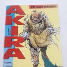 Cómics: AKIRA - Nº 22 - ASEDIO SANGRIENTO - DRAGON GLENAT 1990 // KATSUHIRO OTOMO MANGA COMIC JAPONES. Lote 202316836