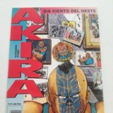 Cómics: AKIRA - Nº 24 - VIENTO DEL OESTE - DRAGON GLENAT 1990 // KATSUHIRO OTOMO MANGA COMIC JAPONES. Lote 202317057