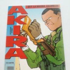 Cómics: AKIRA - Nº 27 - LA MAGNA ASAMBLEA - DRAGON GLENAT 1990 // KATSUHIRO OTOMO MANGA COMIC JAPONES. Lote 202317217