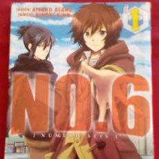 Cómics: NO.6 (NUMERO SEIS) TOMO 1 - ATSUKO ASANO - HINOKI KINO - MUY BUEN ESTADO.. Lote 202524347