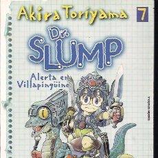 Cómics: DR. SLUMP 7: ALERTA EN VILLAPINGÜINO. AKIRA TORIYAMA. Lote 204002976