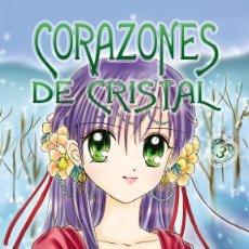 Cómics: CORAZONES DE CRISTAL. 3 VOLS. LIN, SELENA. BARCELONA. ED. FILABO.. Lote 204338242