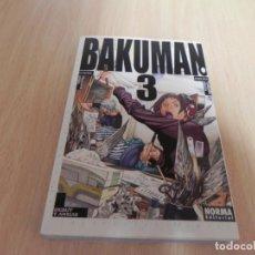 Cómics: BAKUMAN Nº3 (POR TSUGUMI OHBA Y TAKESHI OBATA ) ¡! MANGA - DEBUT Y ANSIAS - MANGA. Lote 204548263