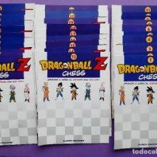 Cómics: DRAGONBALL Z CHESS APRENDE A JUGAR AJEDREZ SON GOKU 32 FASCICULOS PLANETA DEAGOSTINI. Lote 288564438